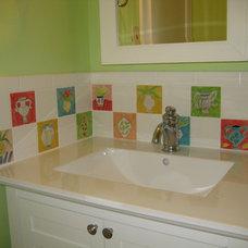 Traditional Bathroom by Annette Kearney