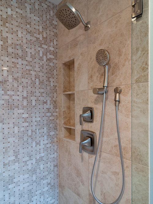 Elegant bathroom photo in Dallas. Shower Remodels   Houzz