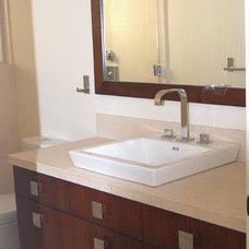 Modern Bathroom by D&O Cabinets INC