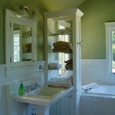Traditional Bathroom by David Edrington, Architect