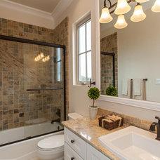 Traditional Bathroom by David Mills Custom Homes