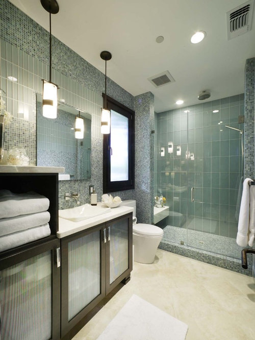 Glass Tile Shower Ideas Pictures Remodel and Decor