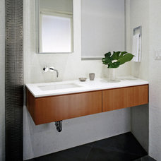 Modern Bathroom by Denise DeCoster Architect