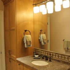 Traditional Bathroom by Christina Waters