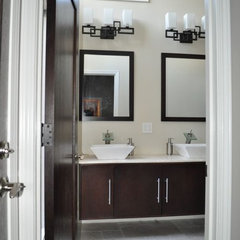 contemporary bathroom by Construction Owl