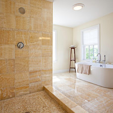 Contemporary Bathroom by Dawn Willis, AKBD- Great Spaces Inc.