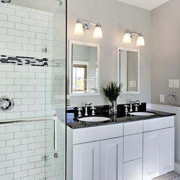 Bathroom Design Ideas white bathroom design with subway tiles