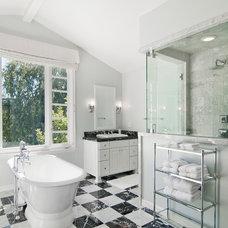 Traditional Bathroom by DesignBlue, Inc.
