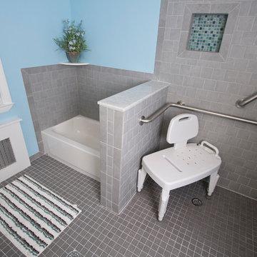 Bathroom designed by the Design Build Pros