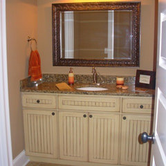traditional bathroom by Luxe Homes and Design