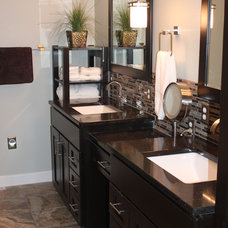 Traditional Bathroom by Wright Do-it Center