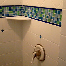 Eclectic Bathroom by Home Restoration Services, Inc.