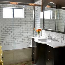 Eclectic Bathroom by DG Interior Design