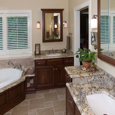 Traditional Bathroom by Dilworth's Custom Design