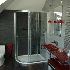Contemporary Bathroom by Discovery Design