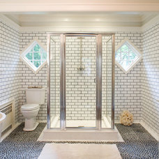 bathroom by Miller & Wright Architects