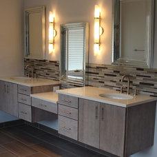 Contemporary Bathroom by Dream Windows & interiors