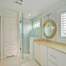 Transitional Bathroom by Echelon Custom Homes