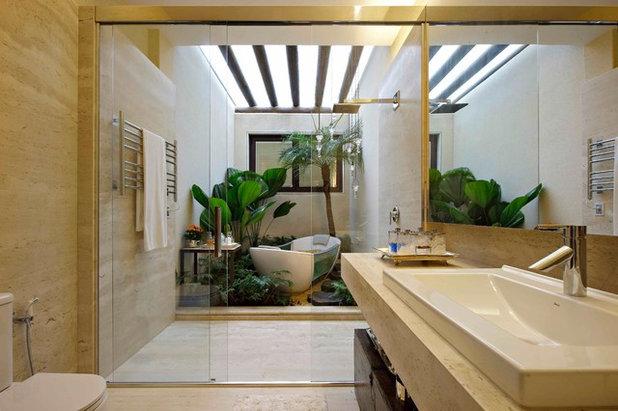 Exotique Salle de Bain by Eduarda Correa Arquitetura & Interiores