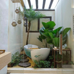 contemporary bathroom by Eduarda Correa Arquitetura & Interiores