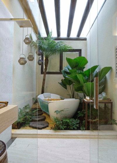 Créez une ambiance jungle chez vous grâce à des plantes à gogo