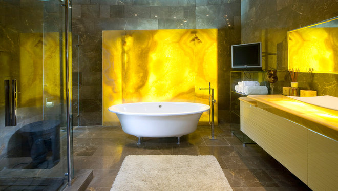 Lighting Behind Onyx Marbles : Inspiring materials honey onyx