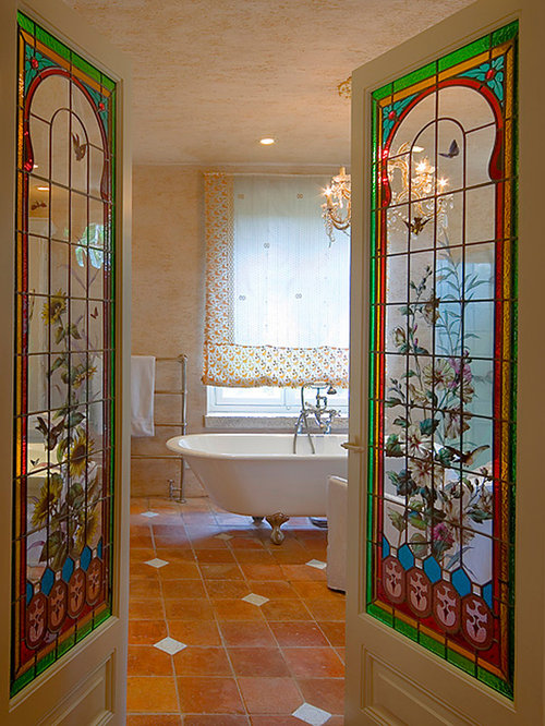 Stained Glass Door | Houzz