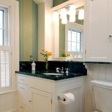 Modern Bathroom by Residential Builders