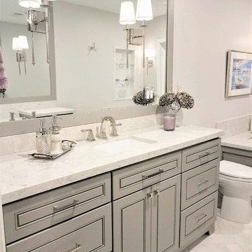 Bathroom expansion and renovation, Houston TX
