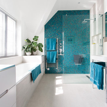 Bathroom facelift in Chiswick