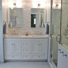 Contemporary Bathroom by Interior Style by Marisa Moore