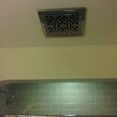 Traditional Bathroom bathroom fan cover