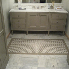 Contemporary Bathroom by World Mosaic (BC) Ltd.