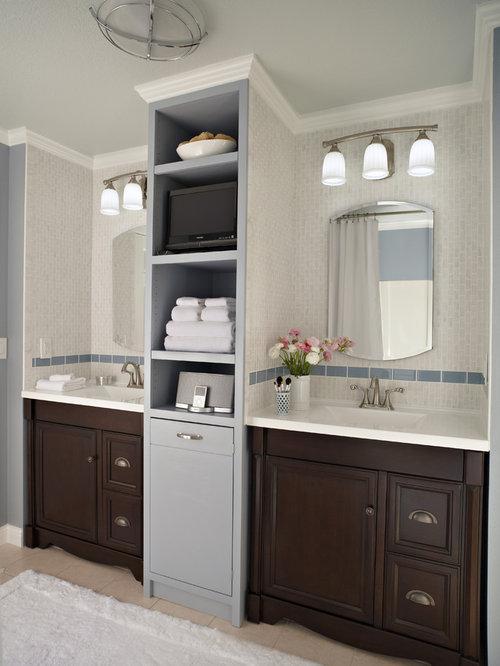 21 allen roth mocha ballantyne vanity cab bathroom for Mocha bathroom ideas
