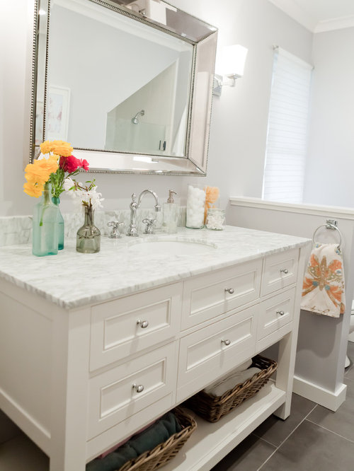 Pottery barn vanity ideas pictures remodel and decor for Pottery barn bathroom paint colors