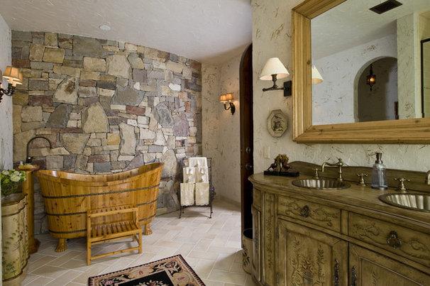 Traditional Bathroom by Gabberts Design Studio
