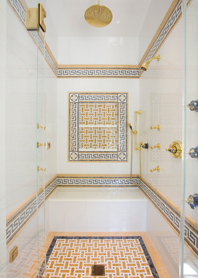 Mediterranean Bathroom by A&S Sales of Virginia, LLC