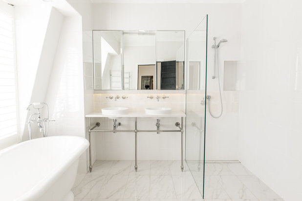 Contemporary Bathroom by Look Design Group P/L