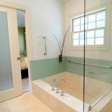 Bathroom by Greymark Construction Company