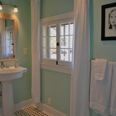 Eclectic Bathroom by Gill Design & Construction LLC