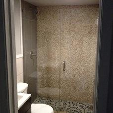 Contemporary Bathroom Bathroom Glass