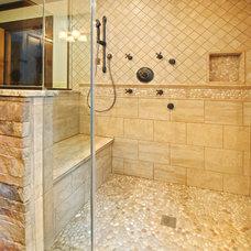 Traditional Bathroom by Carriage Barn Custom Builders