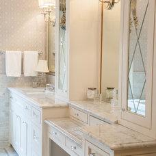 Transitional Bathroom by Granite Depot, LLC