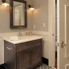 Transitional Bathroom by Hendel Homes