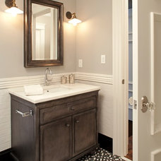 Transitional Bathroom by Hendel Homes