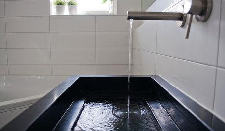 Guida Houzz: Come Sprecare Meno Acqua in Casa
