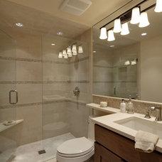 Modern Bathroom by Hufker Photo