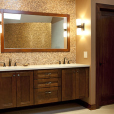 Contemporary Bathroom by Hurst Design Build Remodeling