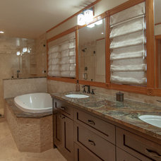 Traditional Bathroom by Ideal Tile Kitchen & Bath Design Center