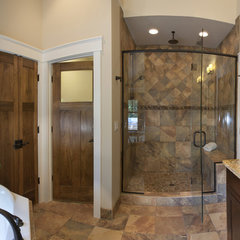 traditional bathroom by Brookstone Builders